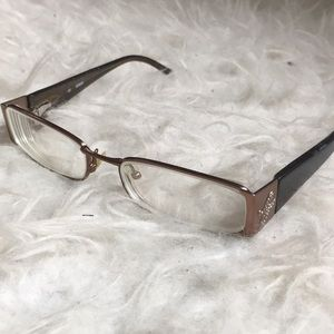 Guess metallic and acetate glasses frames